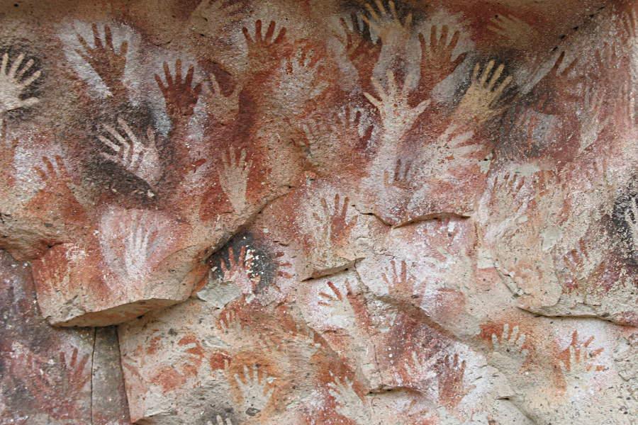 Steinzeitliches Graffitti: Die Cuevas de las Manos