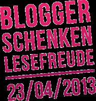 """Das Logo zur Aktion """"Blogger schenken Lesefreude"""""""