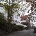 Ruhige Seitenstraße in Stavanger