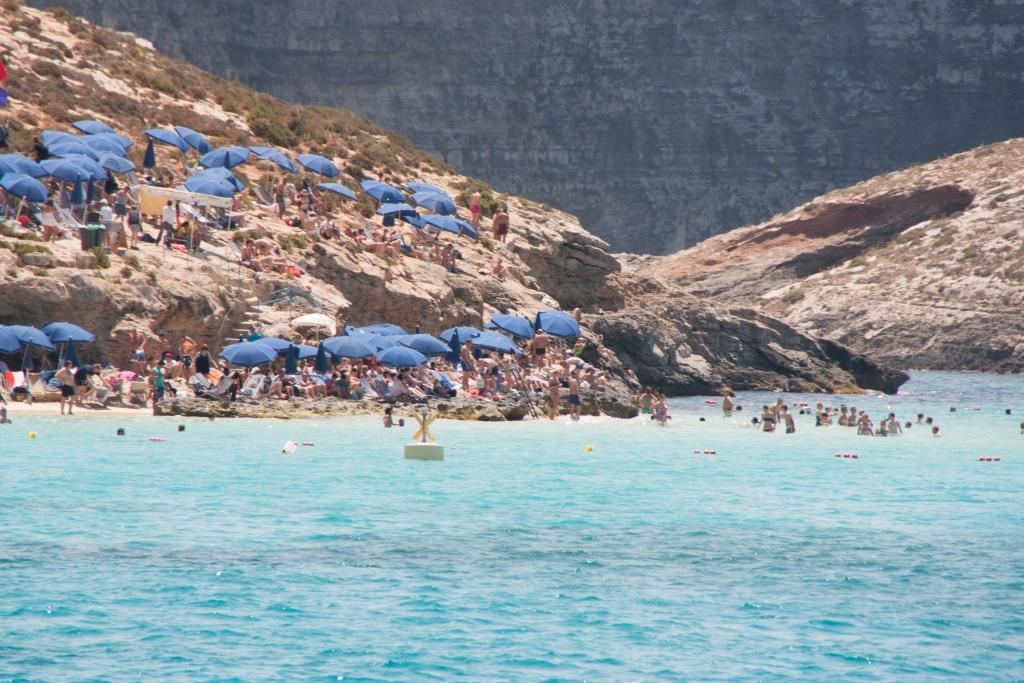 Die Blaue Lagune vor Comino