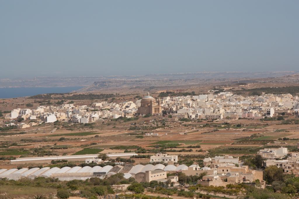 Das Städtchen Im-Garr im Hinterland von Malta