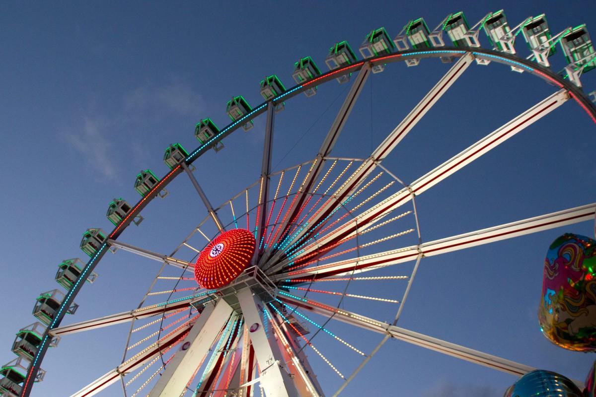 Riesenrad auf dem Bremer Freimarkt
