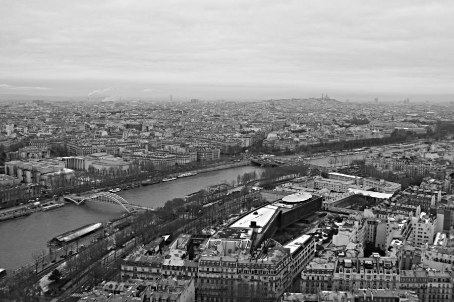 Paris von oben - Blick vom Eiffelturm
