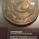 Chiffriergerät im Dresdener Zwinger