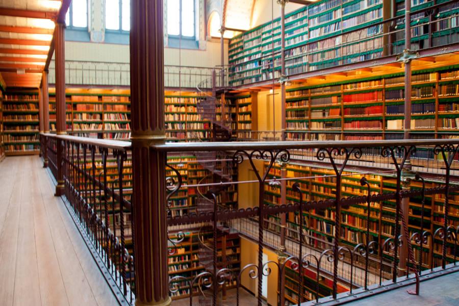 Oase der Ruhe - die Bibliothek im Amsterdamer Rijksmuseum