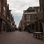 Die Fußgängerzone von Enkhuizen