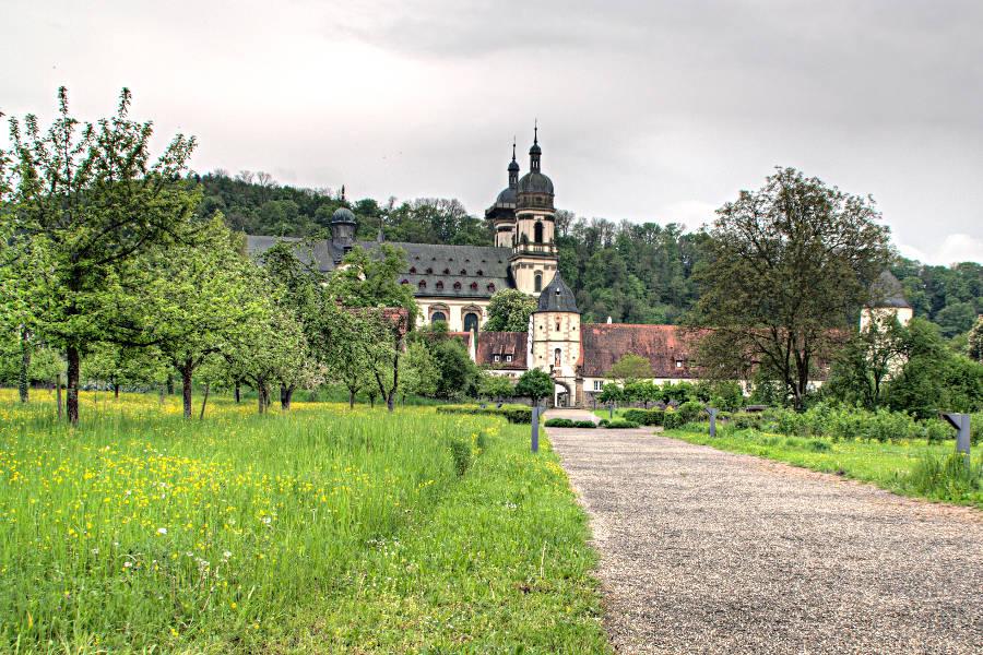 Das Kloster Schöntal am Kulturwanderweg Jagst