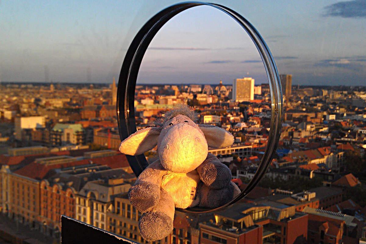 Antwerpen vom MAS aus gesehen