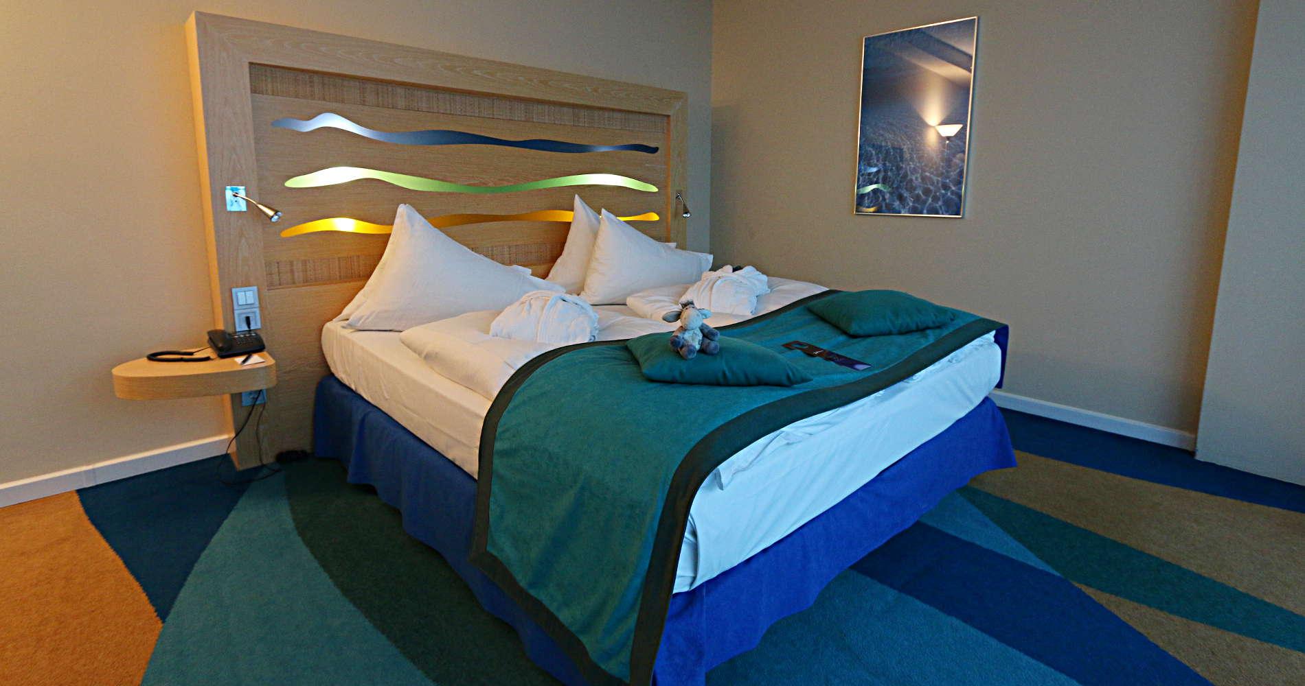 Ein Ocean-Zimmer im Radisson Blu Hotel Rostock