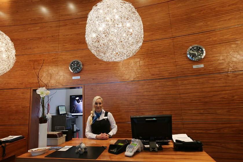 Herzlicher Empfang im Radisson Blu Hotel Rostock