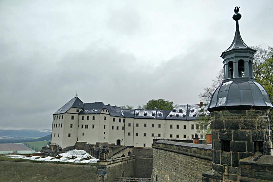 Die Georgenburg auf der Festung Königstein