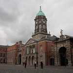 Im Innenhof von Dublin Castle