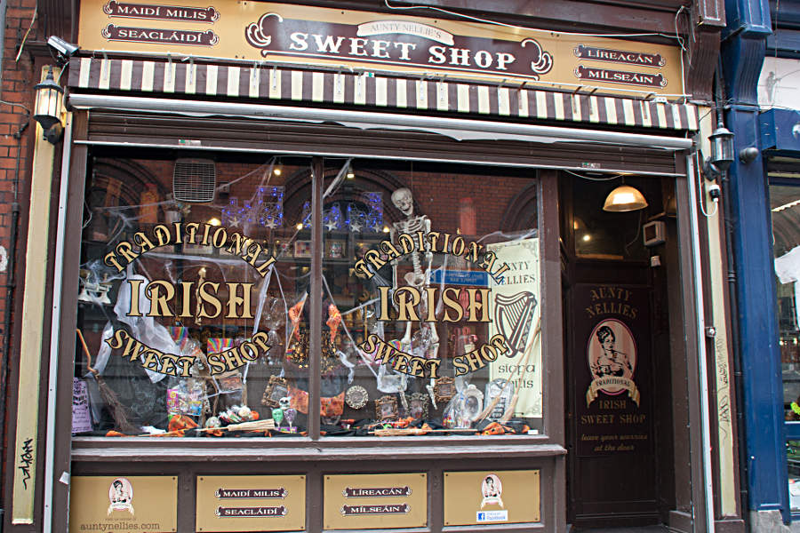 Aunt Nellie's Sweet Shop im Temple Bar District in Dublin