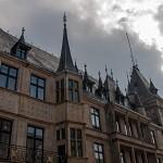 Detail am Fürstenpalast Luxemburg