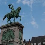 Statue von Großherzog Wilhelm II auf dem gleichnamigen Platz (Place Guillaume II)