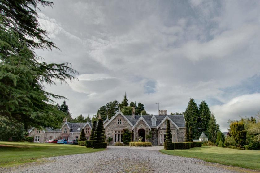 Unser Ferienhaus in Schottland - Scatwell House in der Nähe von Inverness (c) Carolin Hinz www.esel-unterwegs.de