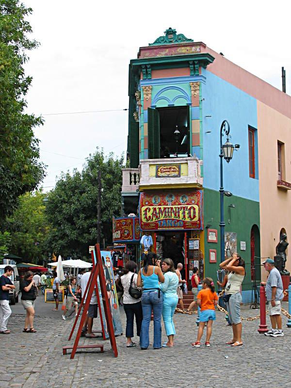 So kennen die meisten Touristen Buenos Aires bzw. La Boca.