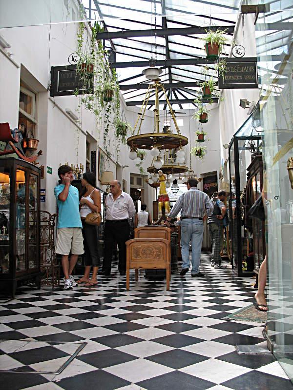Einkaufspassage in San Telmo, Buenos Aires