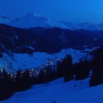 Davos bei Nacht