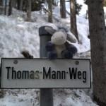 Der Esel am Thomas-Mann-Weg