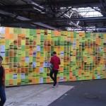 Die Twitter-Wall auf der #rp12