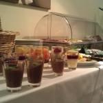 Buffet in der Jacobs Krönung Kaffeelounge