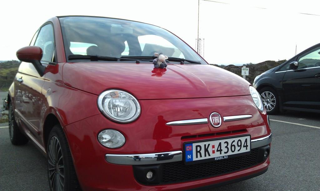 Mit dem Fiat 500 ging es durch Fjordland