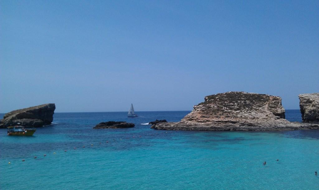 Die Blaue Lagune vor Comino, Malta