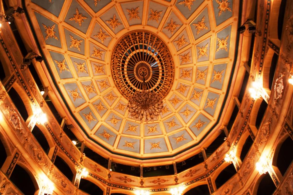 Deckengestaltung im Barock-Saal des Teatru Manoel in Valletta, Malta