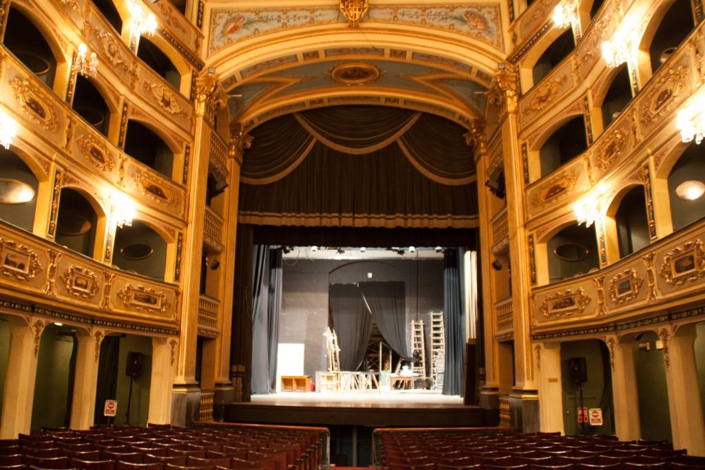 Der Barock-Saal des Teatru Manoel in Valletta, Malta