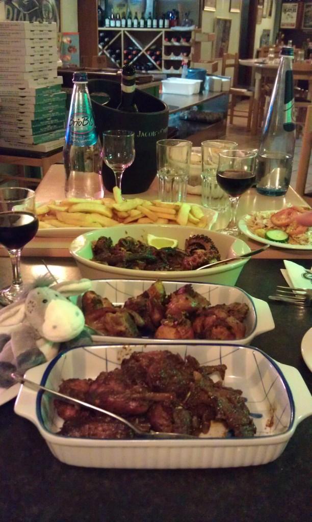 Landküche im Restaurant Ta'Soldi auf Malta