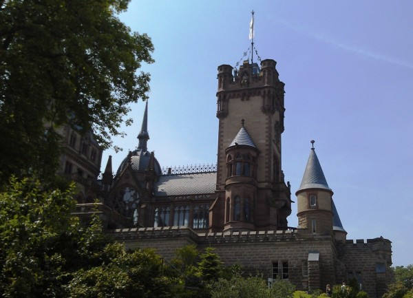 Die Drachenburg bei Königswinter am Rhein