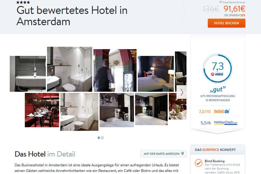 Surprice Hotels Hotelbeschreibung
