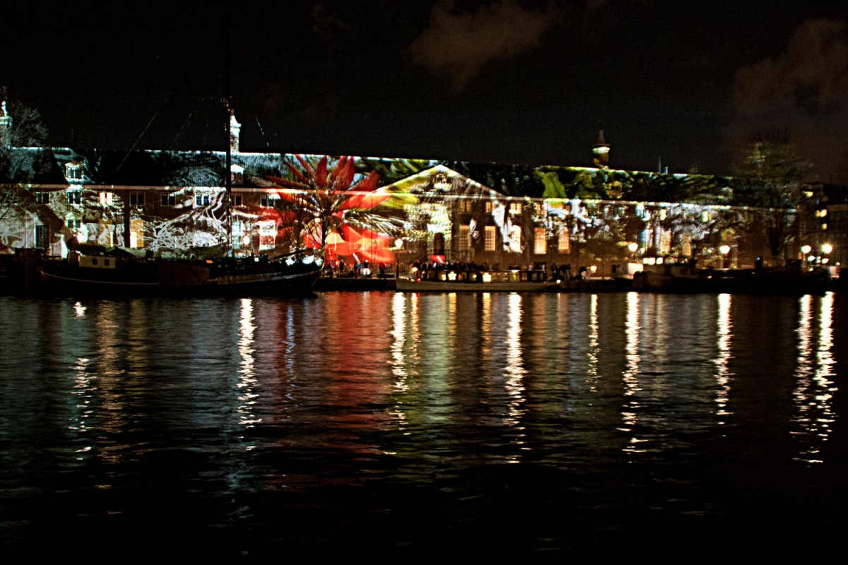 Amsterdam Light Festival - Teresa Mar: Reflections