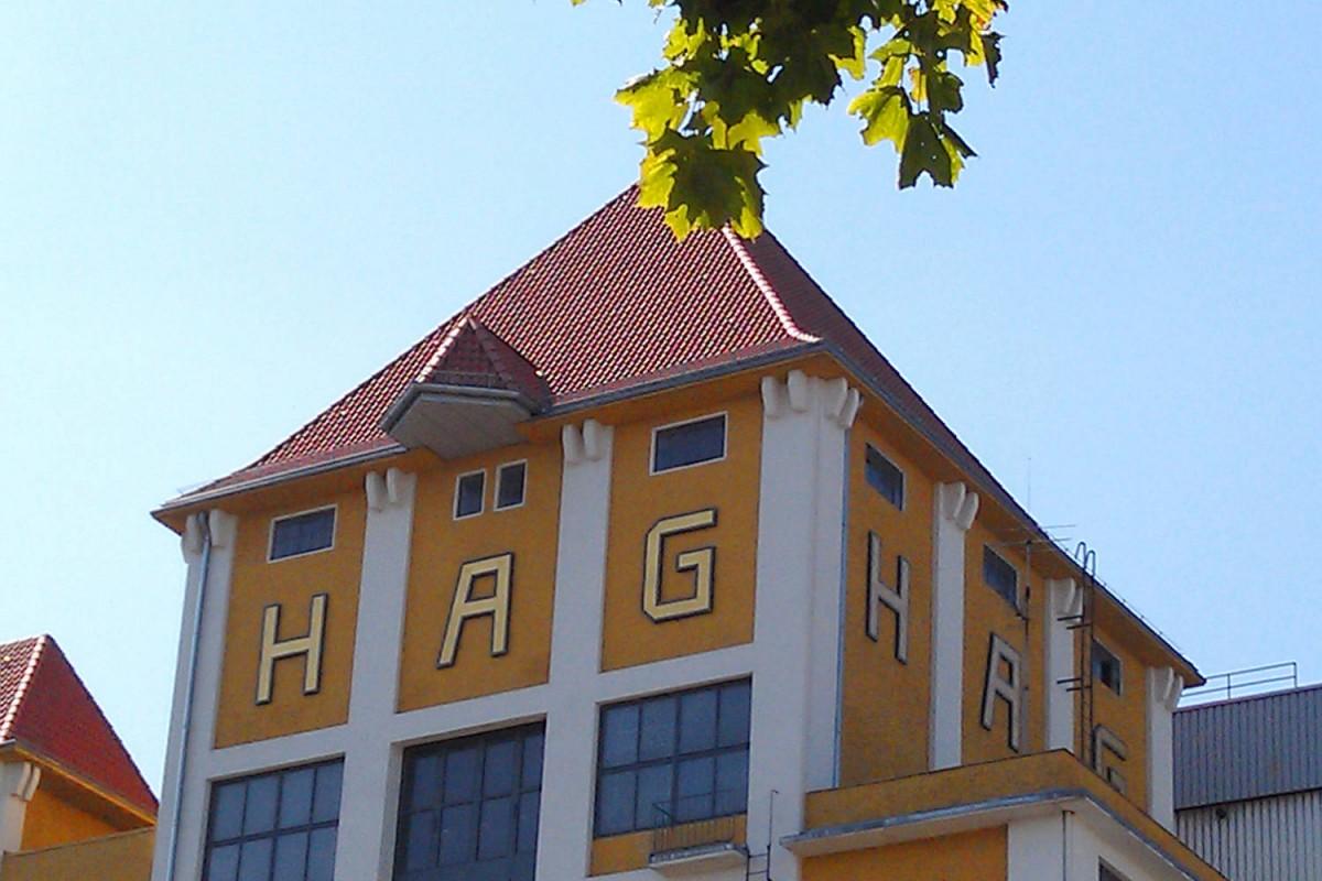 Kaffee Hag Gebäude in der Überseestadt Bremen