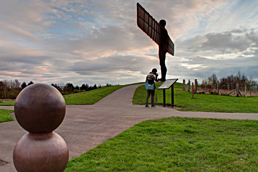 Der Engel des Nordens - Angel of the North
