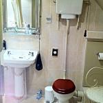 Das Badezimmer im Hotel Lumley Castle