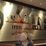 Wanddekoration im Radisson Blu Hotel Bremen