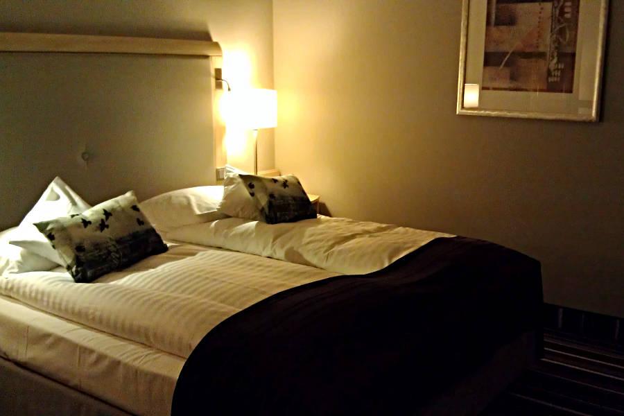 Ein Zimmer im Radisson Blu Hotel Bremen