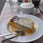 Milchrahmstrudel im Café Prückel in Wien