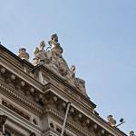 Fassadendetail an der Meir