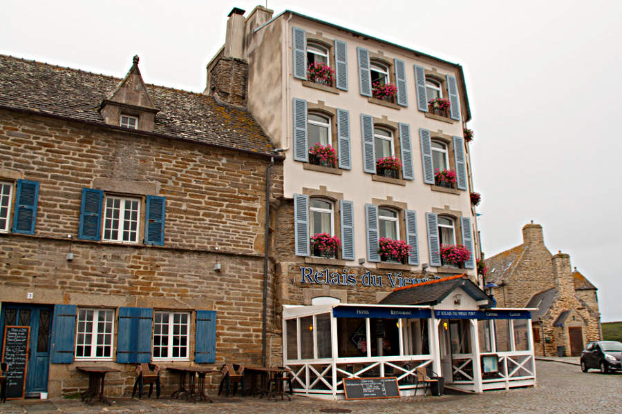 Le conquet das hotel le relais du vieux port esel unterwegs - Hotel relais du vieux port le conquet ...