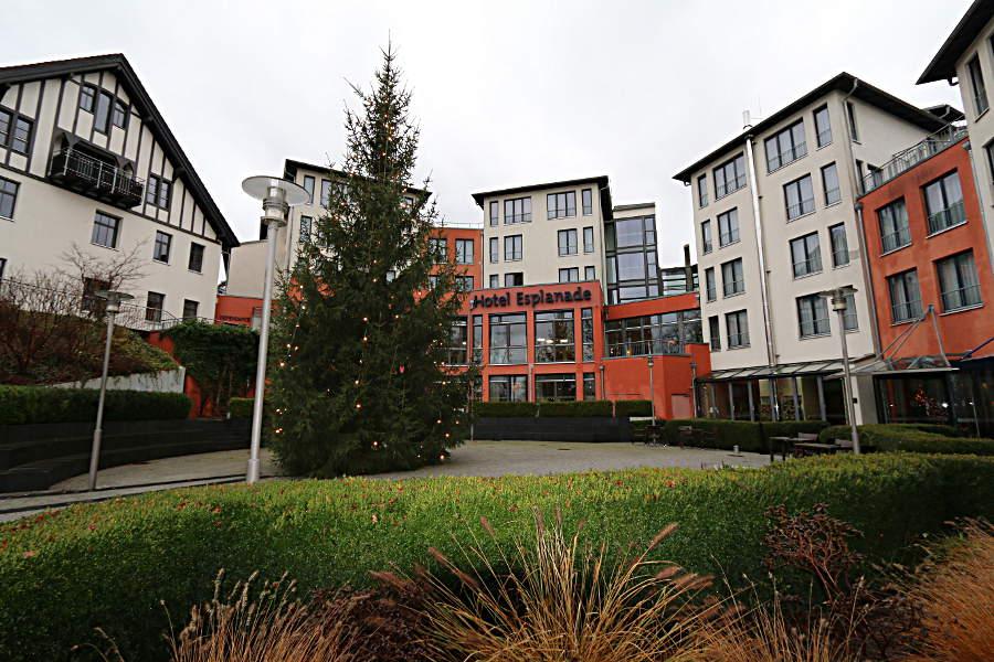 Außenansicht des Hotel Esplanade Resort & SPA Bad Saarow