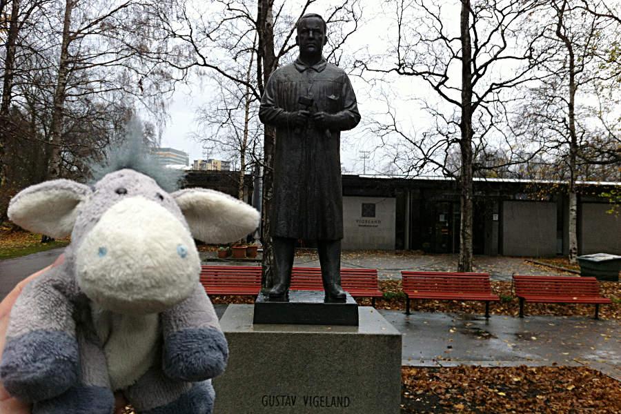 Gustav Vigeland - Schöpfer der vielen Skulpturen im Vigeland-Park