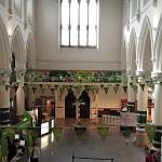 Das Büro der Tourist-Information von Dublin in einer ehemaligen Kirche