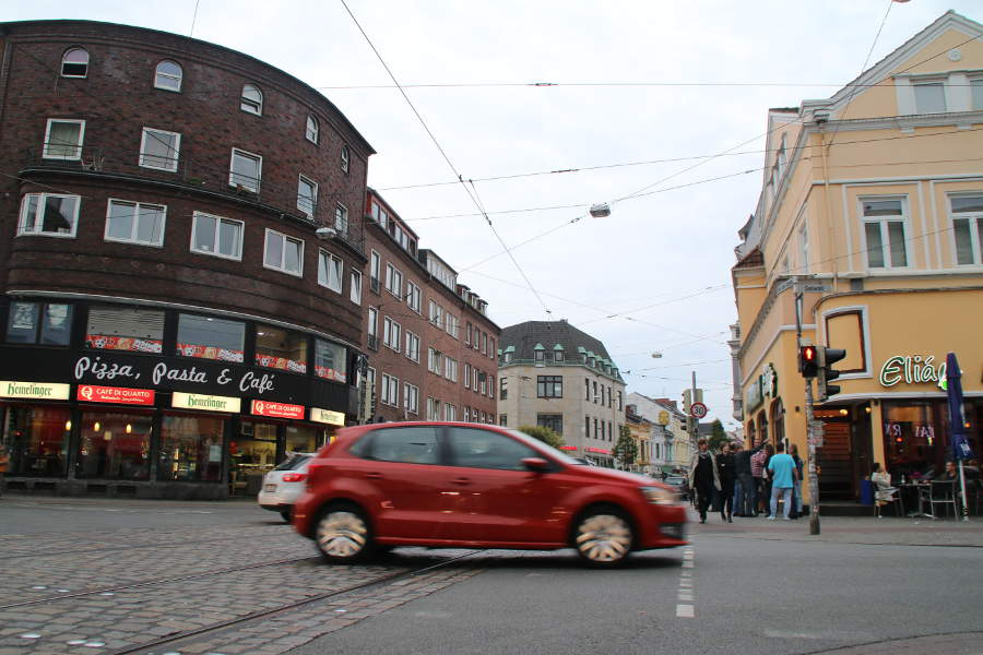 Das Sielwalleck im Bremer Viertel