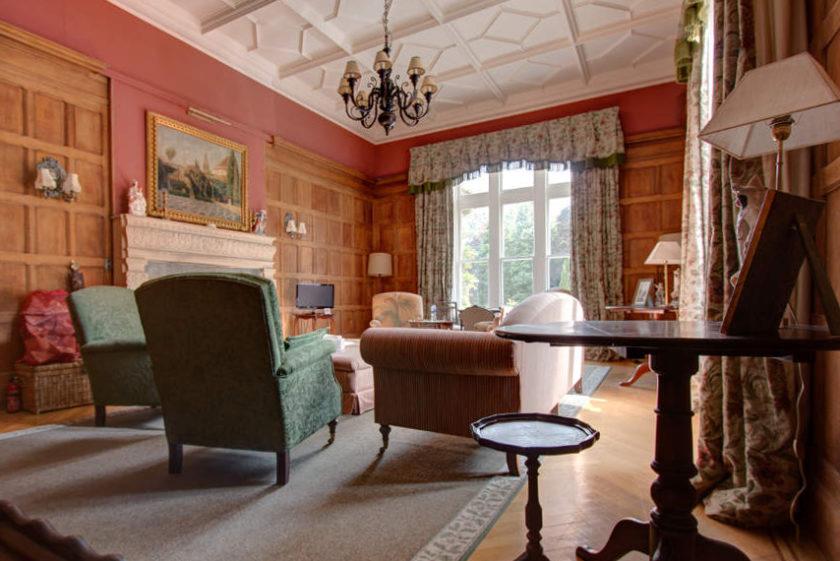 Der sogenannte Ladies Room in Scatwell House - nur einer der vielen Aufenthaltsräume. (c) Carolin Hinz www.esel-unterwegs.de